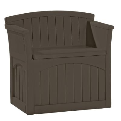 Suncast 31 Gal Patio Storage Seat Pb2600j The Home Depot In 2020 Patio Storage Outdoor Storage Bench Patio Storage Box
