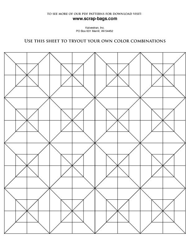 Quilt Pattern Coloring Pages 14 Quilt Pattern Coloring Pages Free