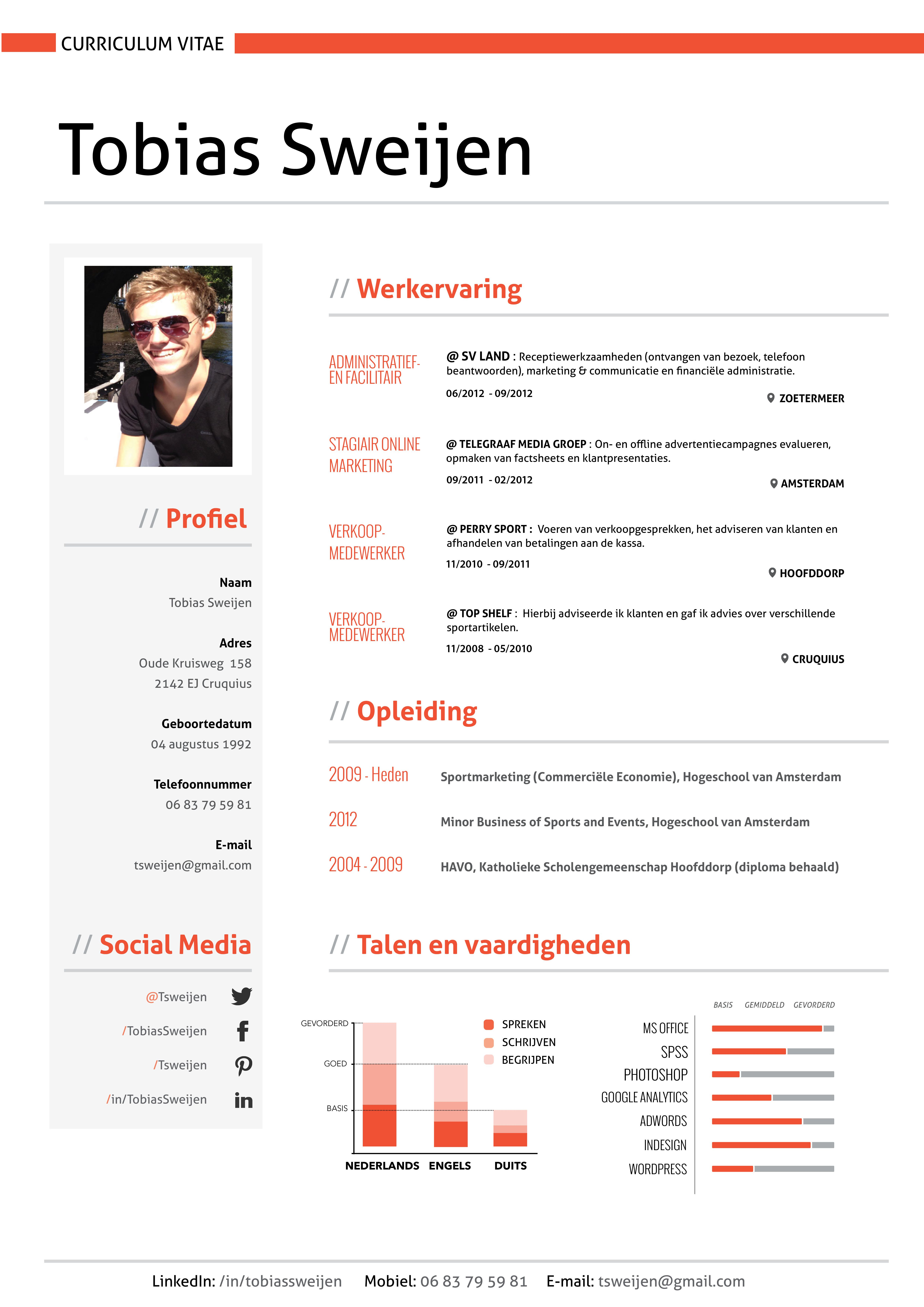 I design Infographic Resumes - check out my portfolio by clicking on ...