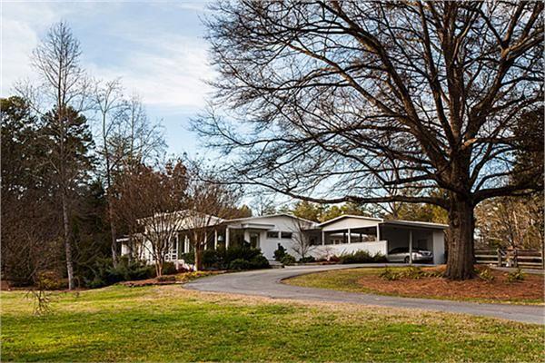 mid century modern homes north carolina - Google Search   Mid-cen ...