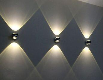 Modern Creative Led Interior Exterior Up Down Wall Lights Dinning Lamp Wall Lamps Living Room Restaurant Bar Light In 2021 Up Down Wall Light Living Room Lighting Wall Lights