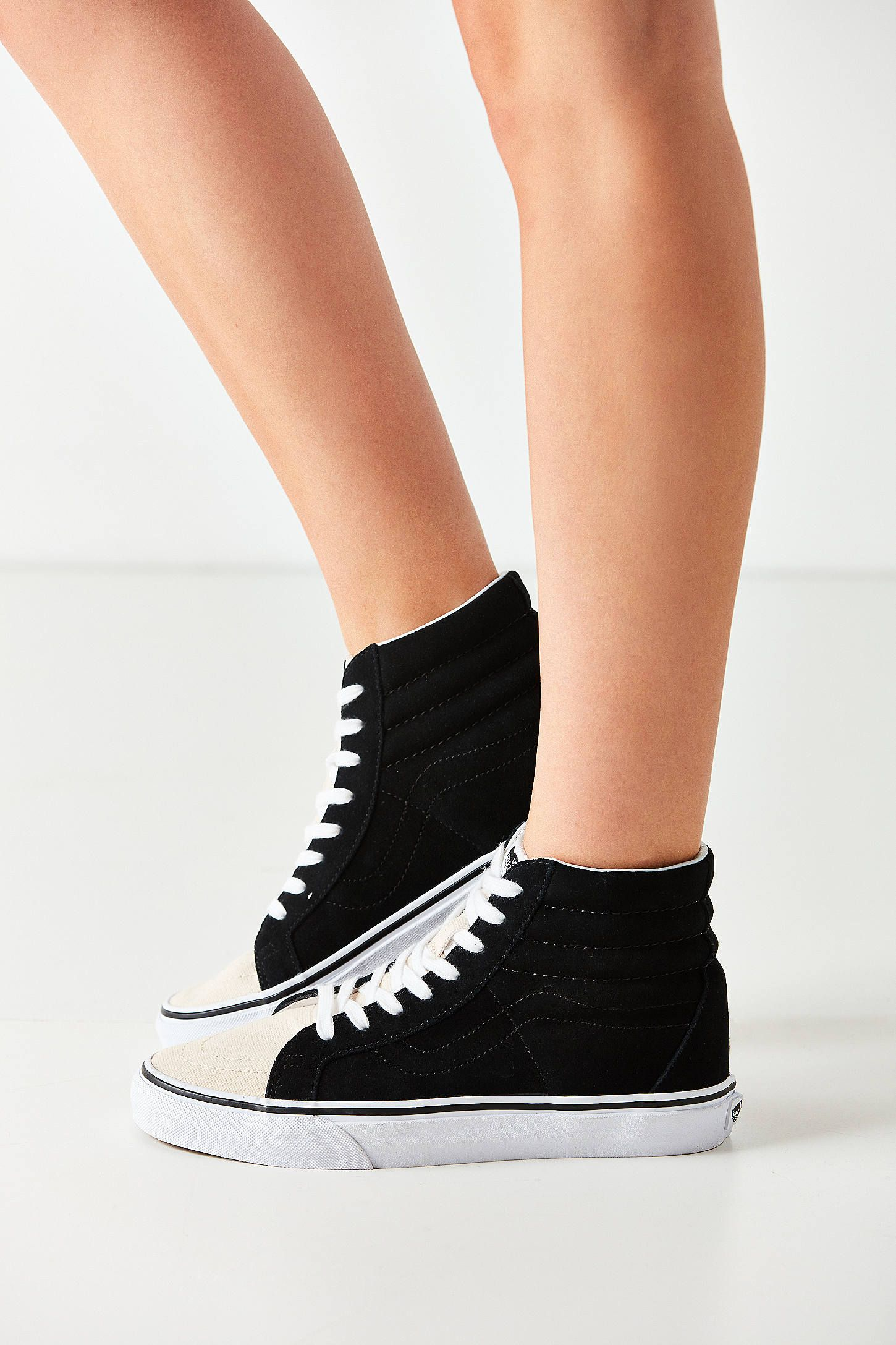 035f0bae9ad588 Shop Vans Two-Tone Sk8-Hi Reissue Sneaker at Urban Outfitters today. We  carry all the latest styles