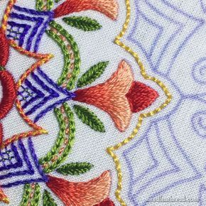 Tulip Festival Part III: Tulips & Borders | embroidery