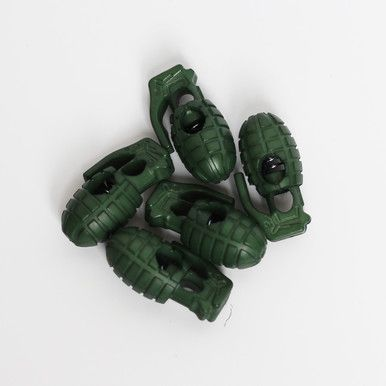 Grenade Lace Stoppers Militärgrün |  | Artikelnummer: 1622