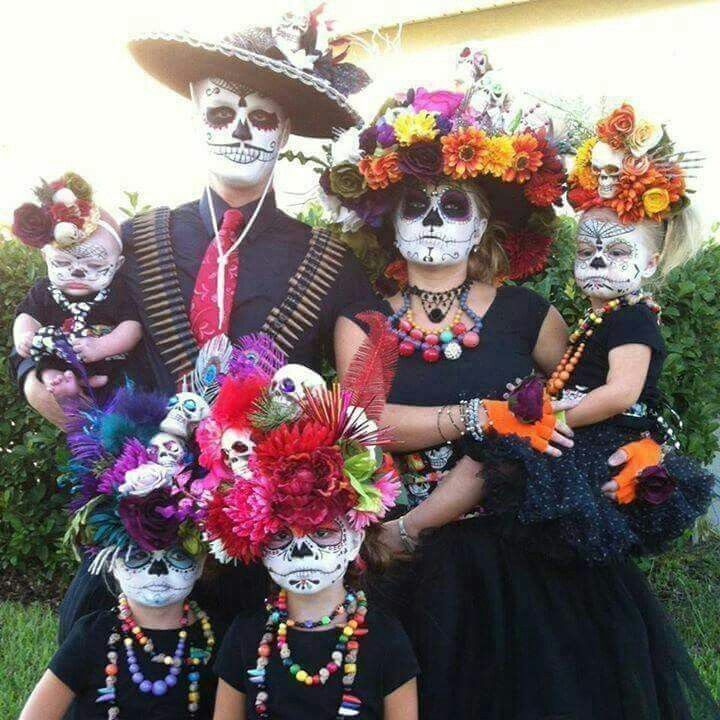0cc5a70ce4e Day of the dead family | LMFAO in 2019 | Family halloween costumes ...