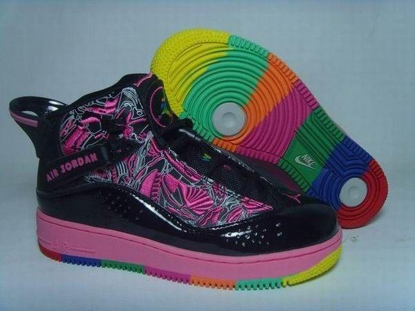 low cost 60914 32ea9 Nike Femmes Air Jordan 6 Rings Fusion Haut Noir Rouge,$93.2 ...