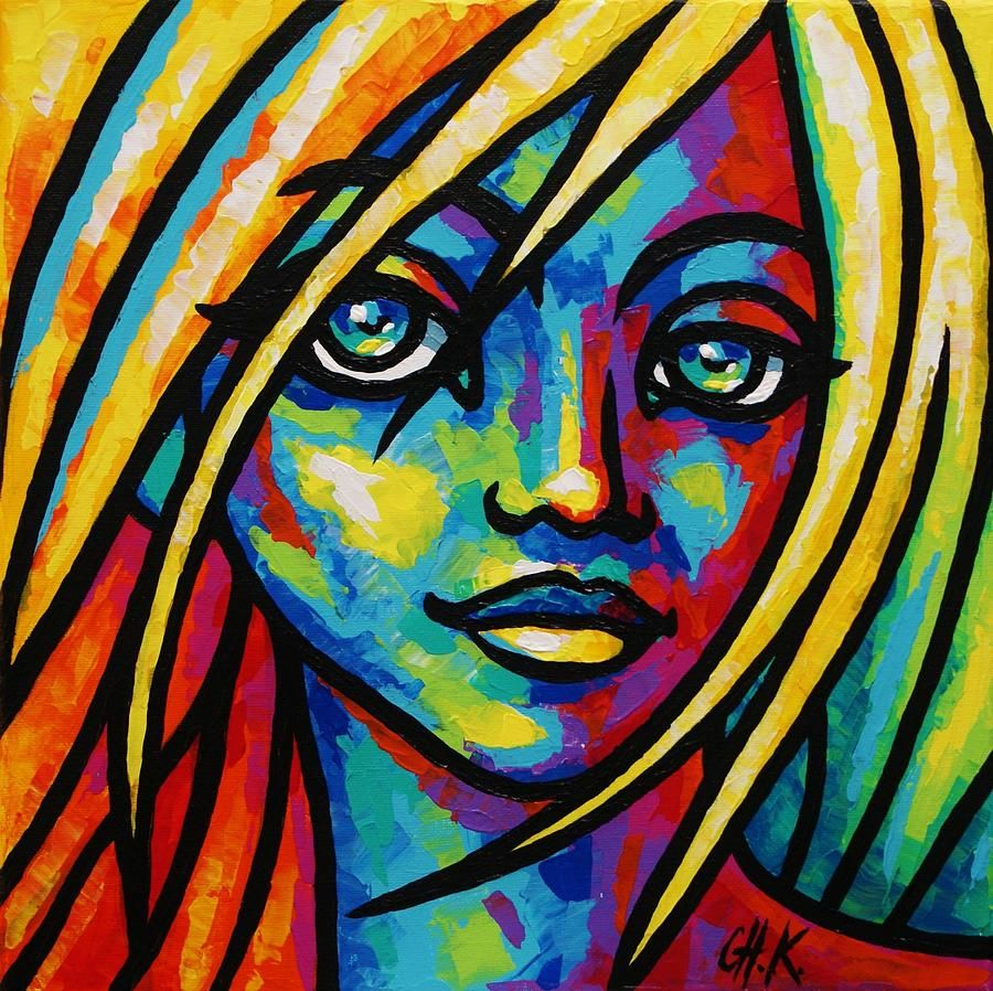 Abstract Painting Of Faces Hd Desktop 9 HD Wallpapers