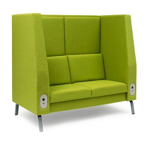 High Backed and Side Couches/Chairs. Give a bit of privacy ...