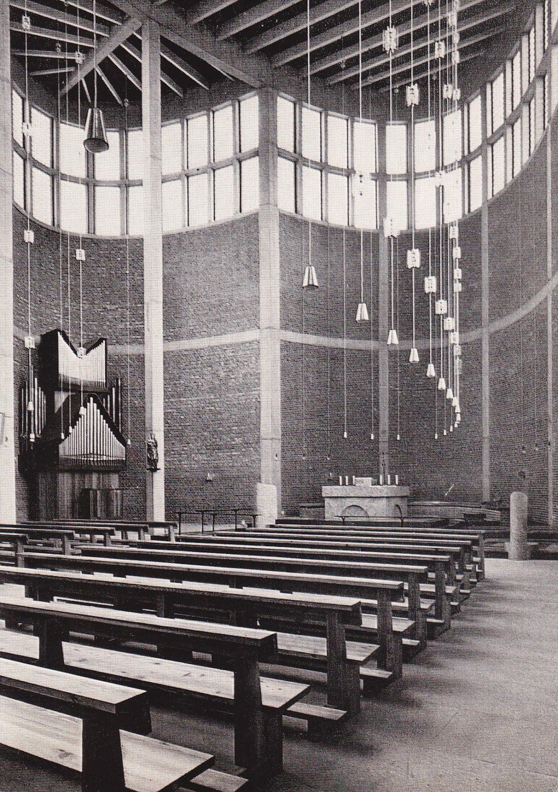 St. Theresia Church Linz, Austria . 1959-1962 Architect: Rudolf ...