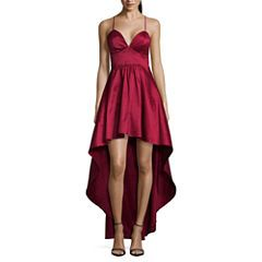 JCPenny Red One Strap Dress