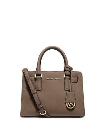 Saffiano Small Satchel Bag