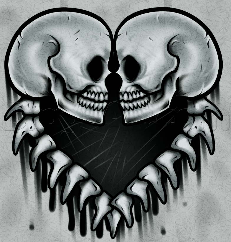 How To Draw Skulls by Dawn (With images) Skulls drawing