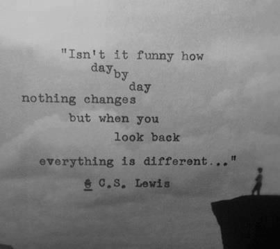 """C.S. Lewis """"isn't it funny..."""""""