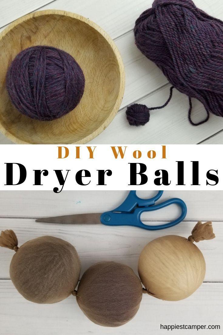 Diy wool dryer balls wool dryer balls dryer balls diy