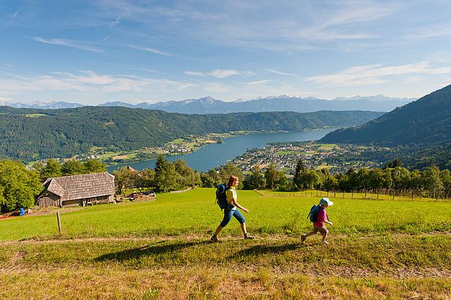 Alpe Adria Trail am Ossiacher See