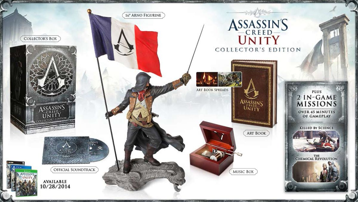 [EB Games] [XB1] Assassin's Creed Unity Collector's