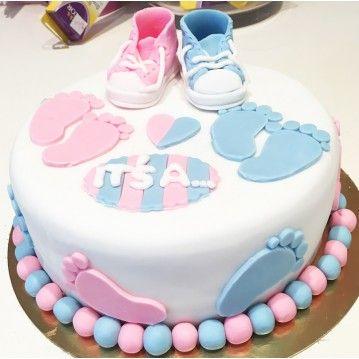 Gâteau Baby Shower It' s a | Baby kuchen