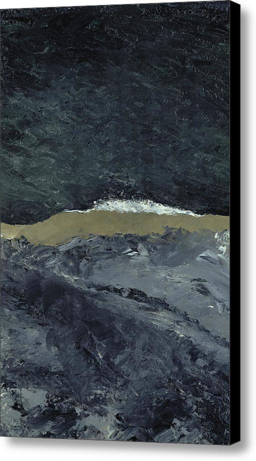 Vague Vii Canvas Print / Canvas Art By August Johan Strindberg