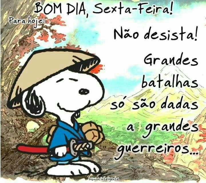 Sexta Feira Bom Dia Frases Snoopy E Good Morning