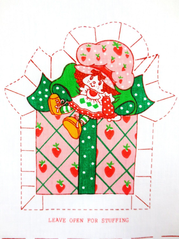 Strawberry christmas ornaments - Strawberry Shortcake Christmas Ornaments By Hatboxpantry On Etsy