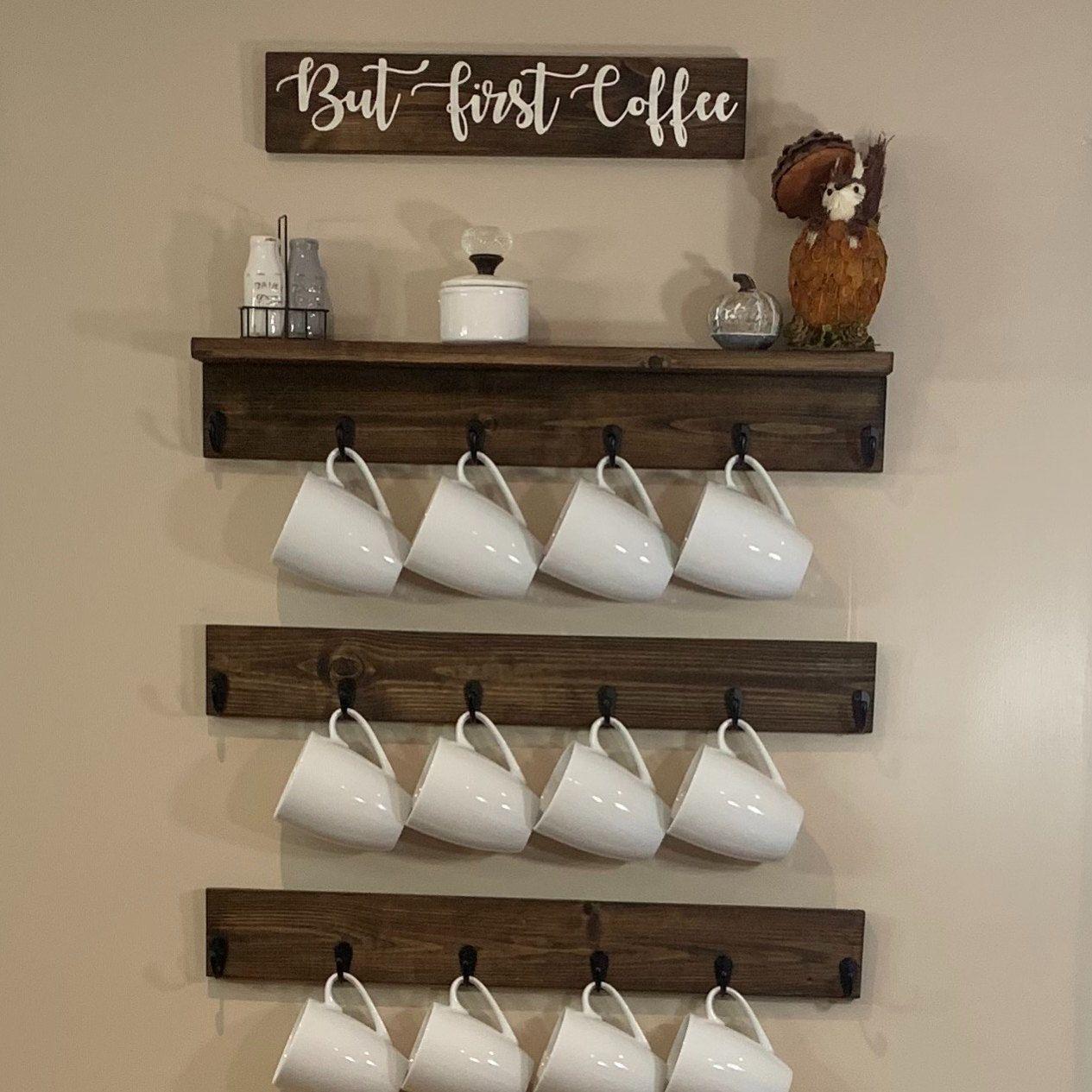 coffee cup rack coffee mug holder