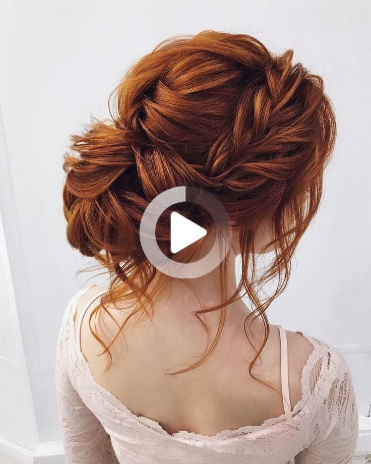 Ginger red wig lace front long straight for women anime