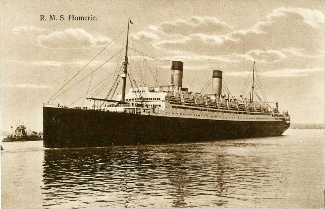 RMS Homeric ShipsOcean Liners Pinterest Ocean Cruise - Homeric cruise ship