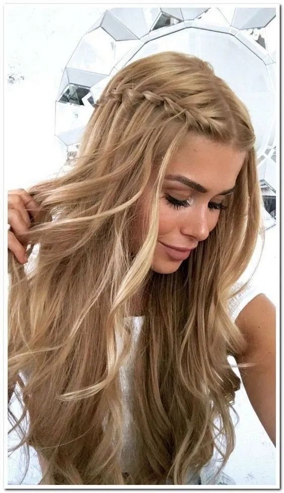 Pretty Easy Prom Hairstyles For Long Hair Prom Long Hair Ideas In 2020 Simple Prom Hair Easy Formal Hairstyles Prom Hairstyles For Long Hair