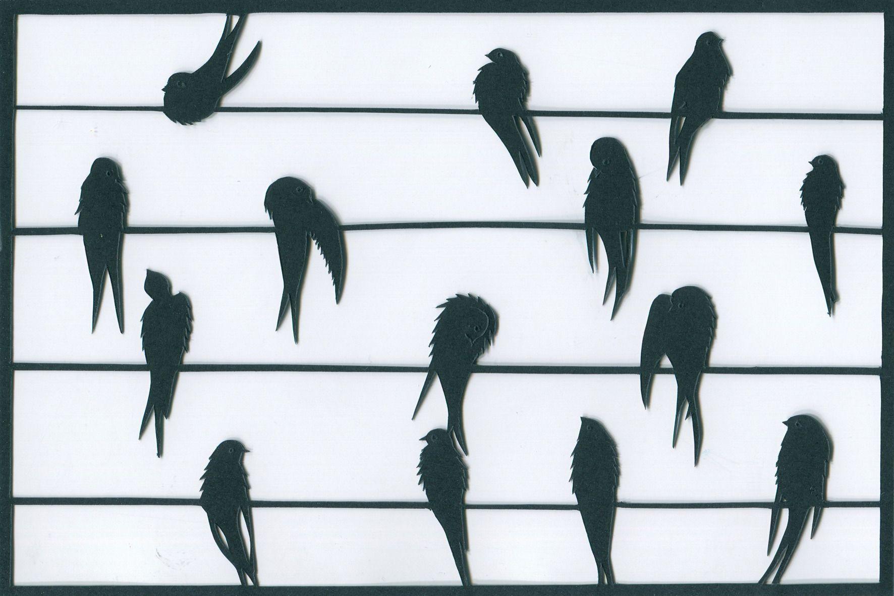 """Sticker Oiseaux Sur Un Fil résultat de recherche d'images pour """"oiseaux sur fil électrique"""""""