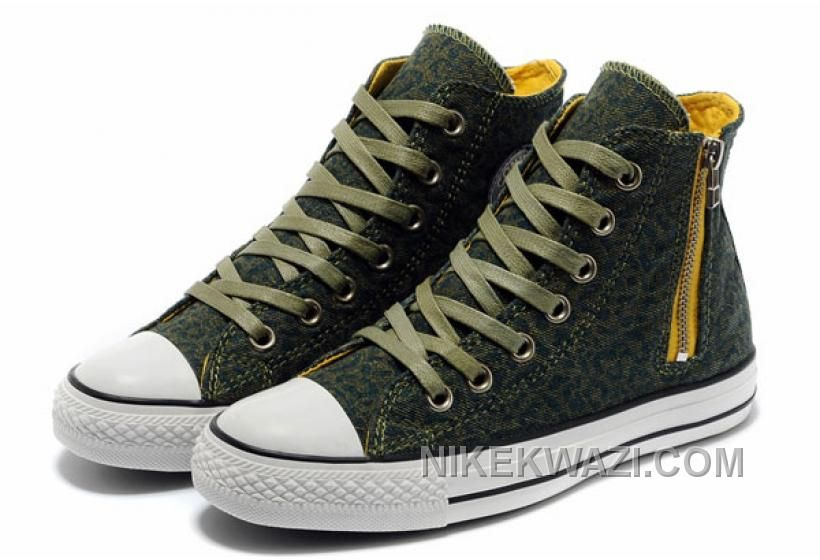 http://www.nikekwazi.com/unisex-converse-leopard-zipper-olive-chuck-taylor-all-star-high-tops-canvas-shoes.html UNISEX CONVERSE LEOPARD ZIPPER OLIVE CHUCK TAYLOR ALL STAR HIGH TOPS CANVAS SHOES Only $59.00 , Free Shipping!