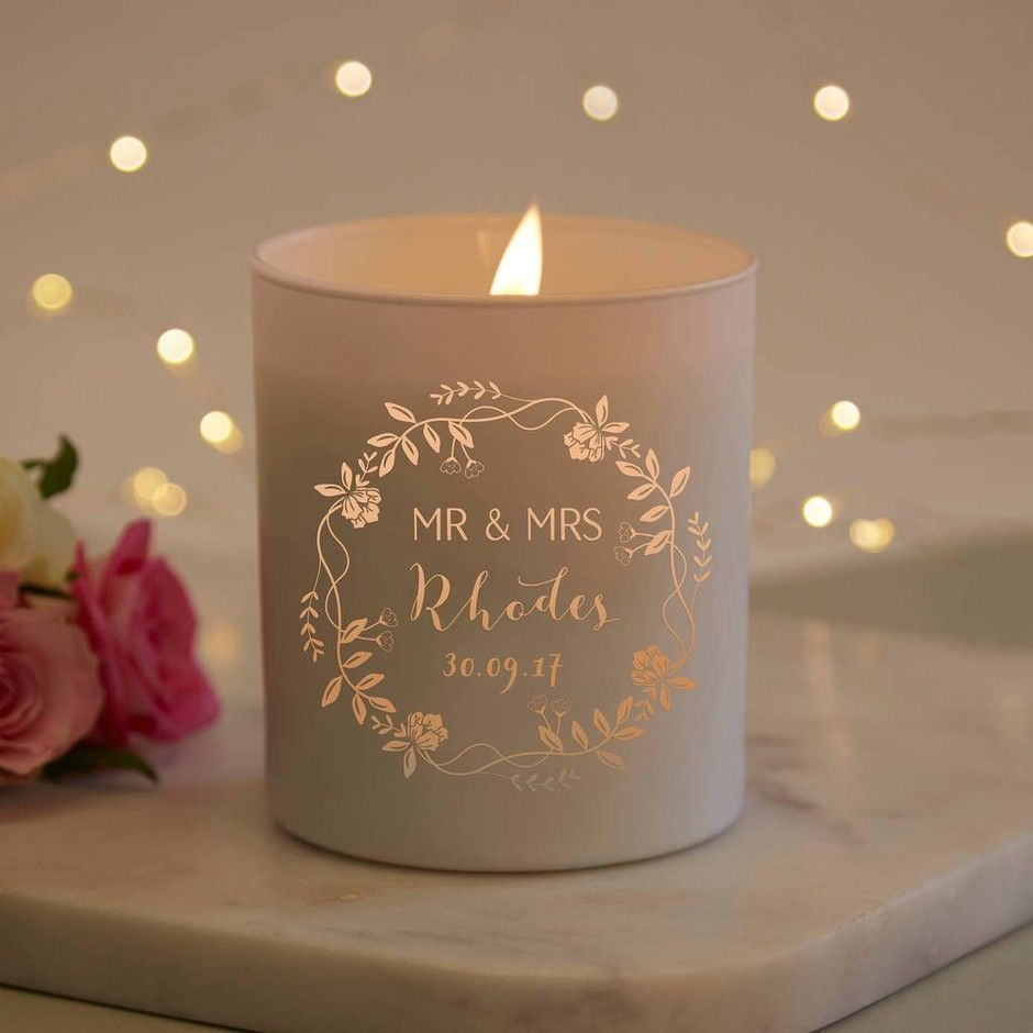 Most Recent Photographs Wedding Candles Tea Lights Pillar Candles And Wedding Favours S In 2020 Personalized Scented Candles Personalized Candles Mothers Day Candle