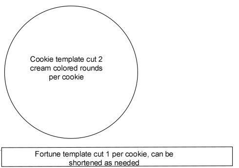 Confucius Says Felt Fortune Cookies are in your future! Felt