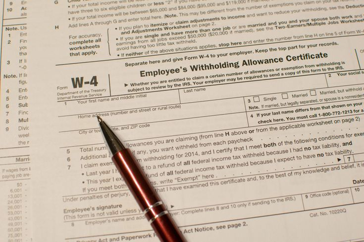What Is Form W4? Employee tax forms, Payroll taxes, Tax