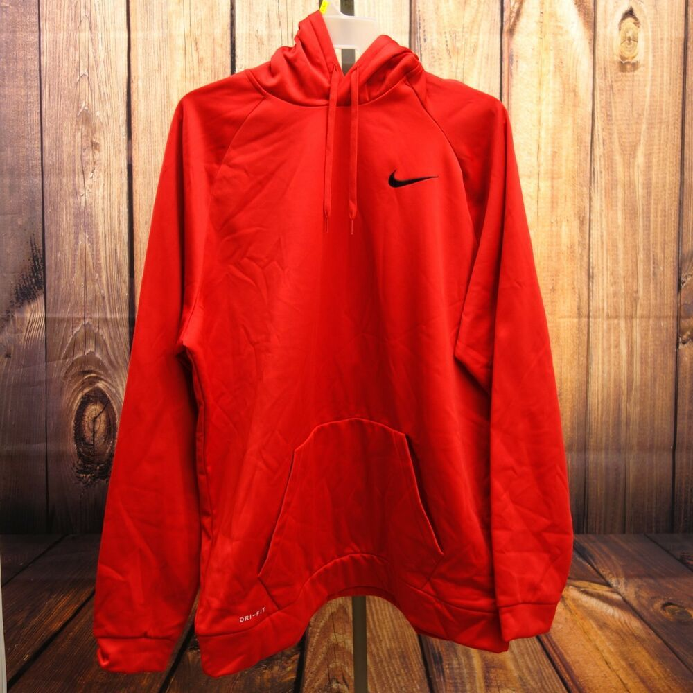 Details about nike mens thermafit big swoosh pull over