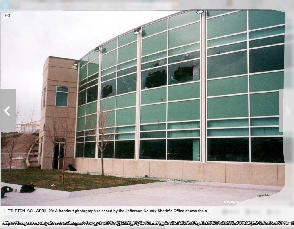 Columbine Library Windows