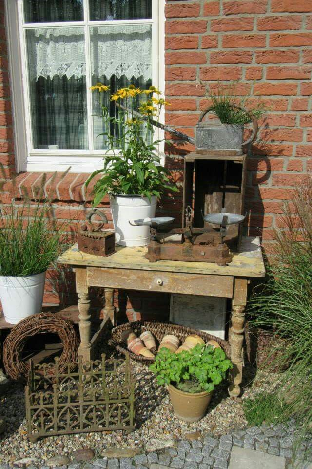 shabby garden garten pinterest gartendeko g rten und gartenideen. Black Bedroom Furniture Sets. Home Design Ideas