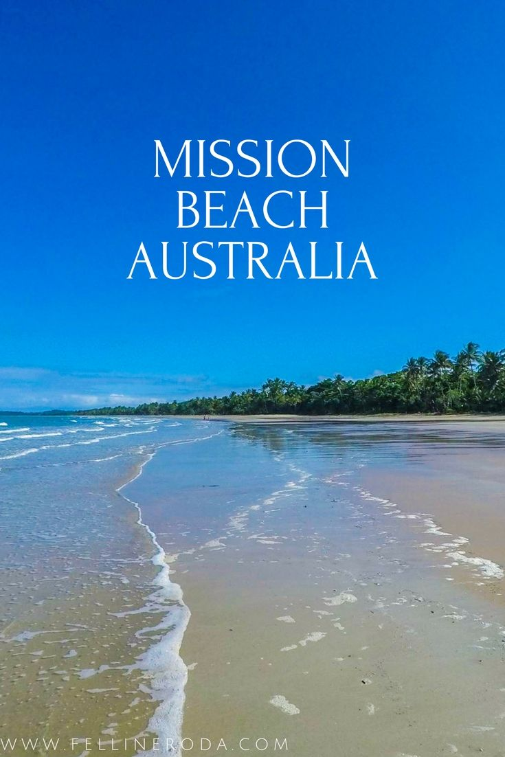 mission beach in queensland australia is surrounded by. Black Bedroom Furniture Sets. Home Design Ideas