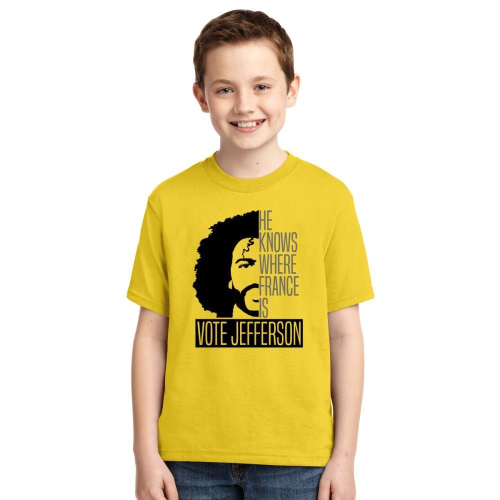 Vote For Jefferson Youth T-shirt