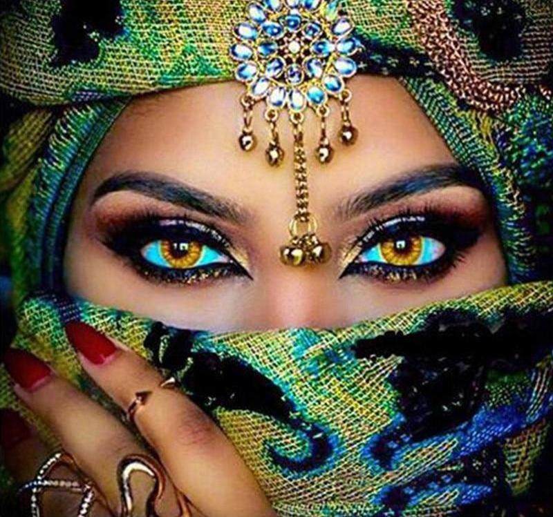 Beautiful woman 5d diy paint by diamond kit in 2020 5d
