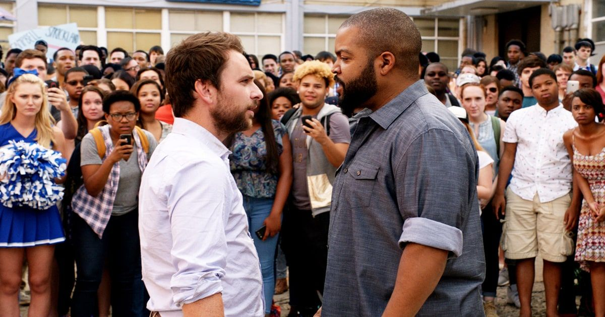 Fist Fight Review Ice Cube Comedy Is One Big Swing And A Miss Fight Movies Charlie Day New Trailers