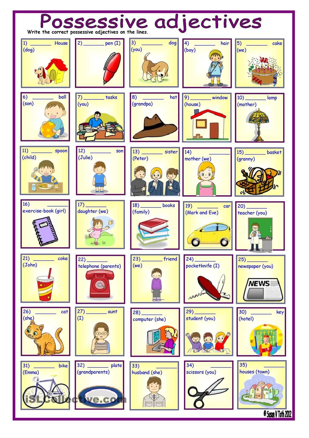 ... all about me body parts : French Possessive Adjectives Worksheet Pdf