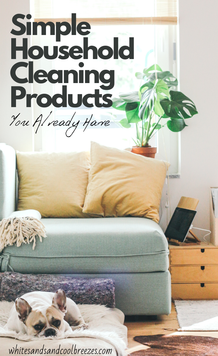 5 Simple Household Cleaning Products You Probably Already