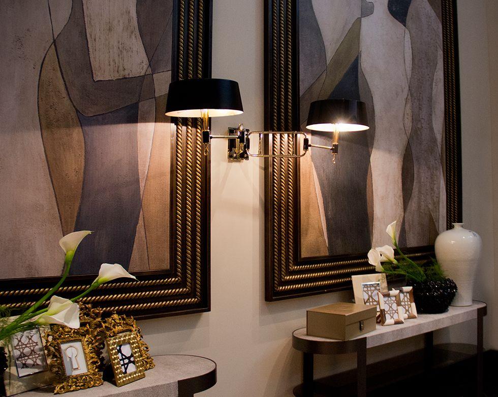 Miles charming wall lamp