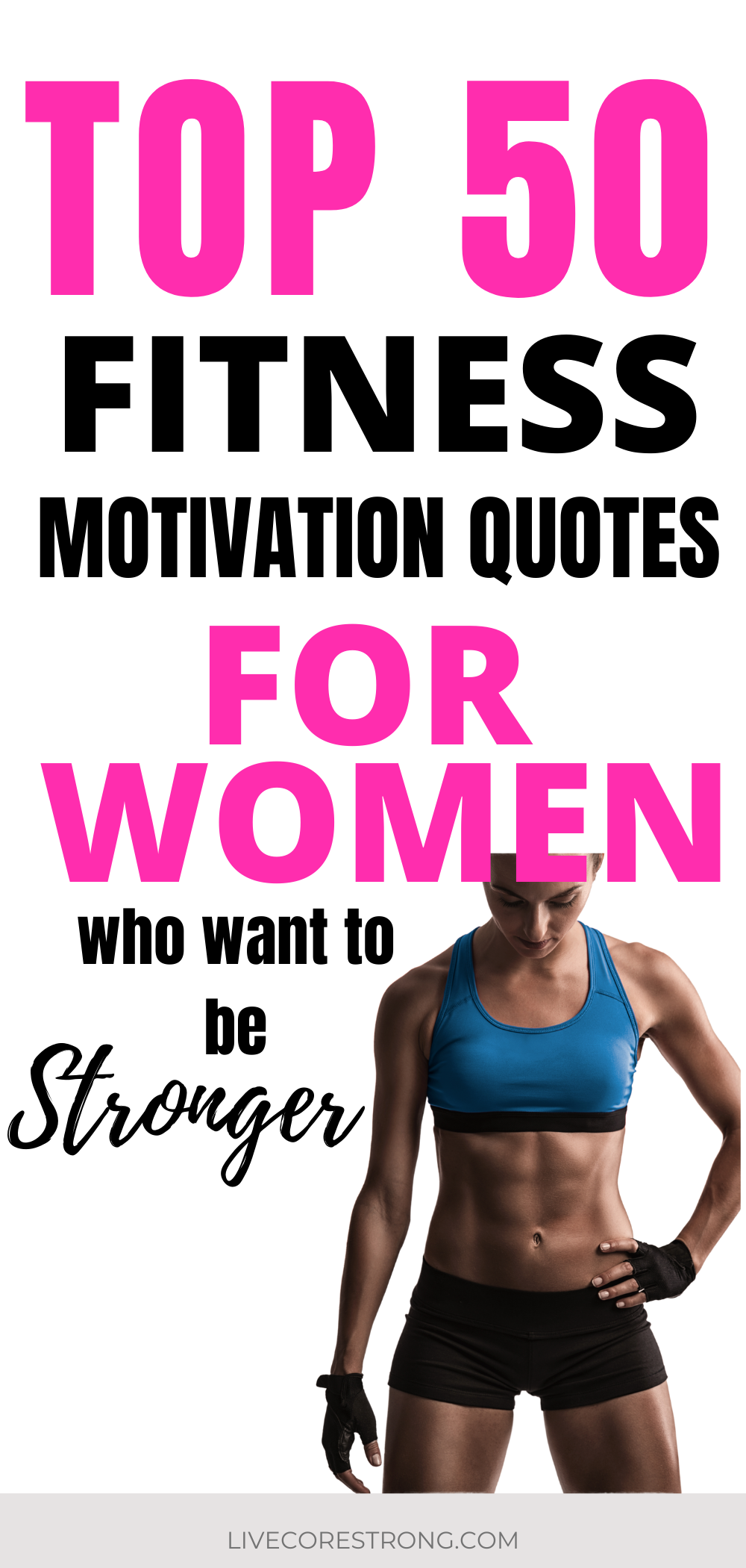 50 Top Motivational Fitness Quotes For Women Who Want To Be Strong Live Core Strong In 2020 Fitness Quotes Women Fitness Motivation Fitness Motivation Quotes It is much easier to build strong girls than to repair broken women. pinterest