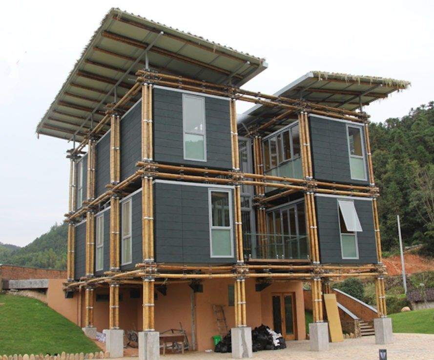 Brilliant Bamboo House Uses Ground Water For Natural Cooling