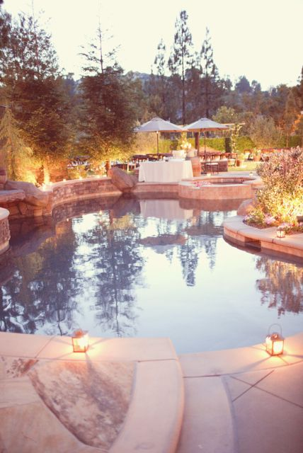 Elegant Backyard Wedding Reception | Backyard weddings ...