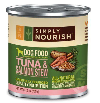 Simply Nourish Tuna And Salmon Stew 10 05 Ounces Grain Free Dog