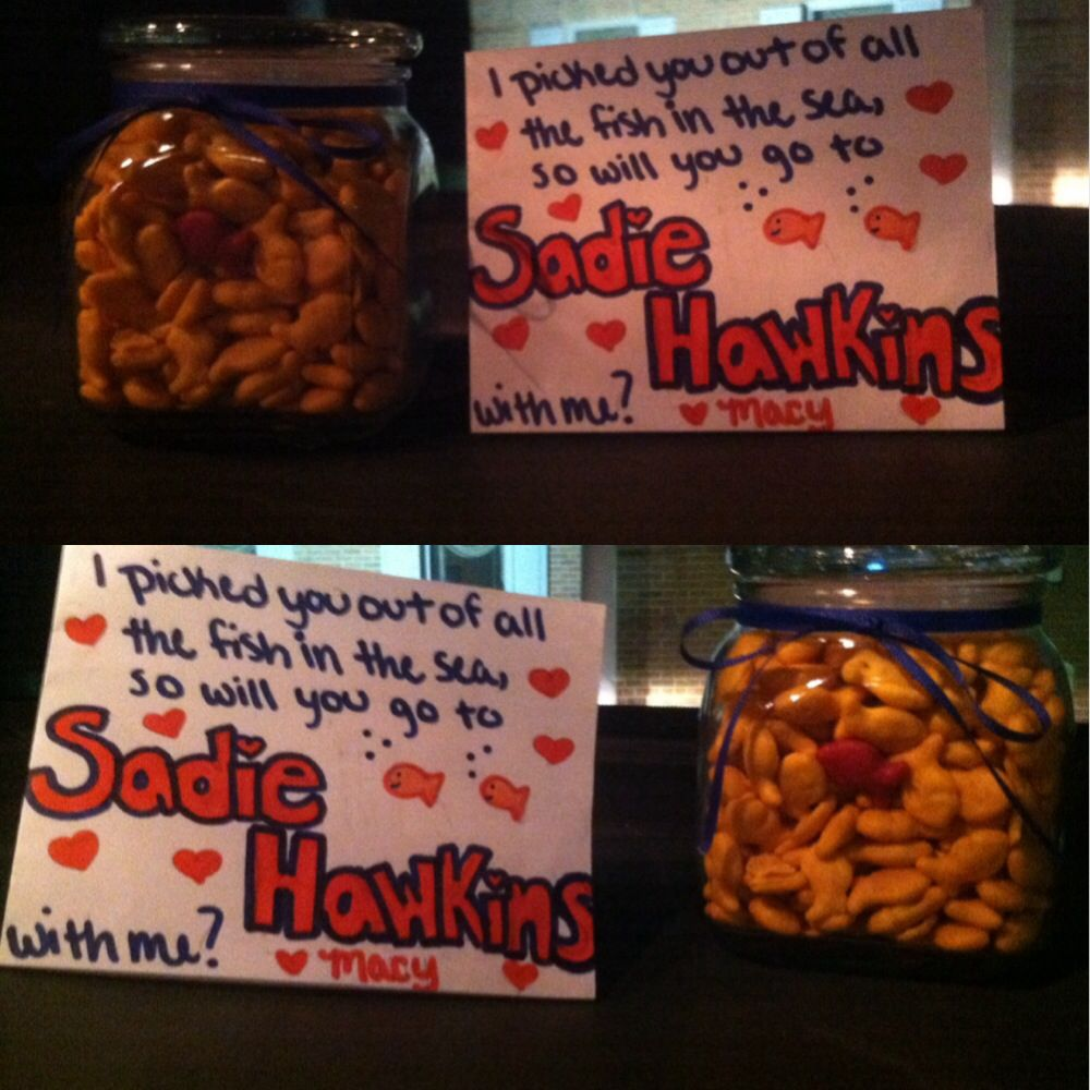 Cute ideas to ask a boy to sadie hawkins - How I Asked Jake To The Sadie Hawkins Dance How I M Going To Ask Nathaniel To Sadie Hawkens