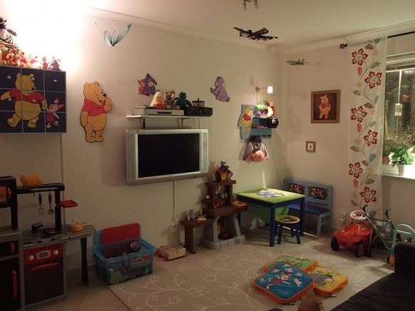 Kids Playroom With Tv kids tv room | daycare ideas | pinterest | living rooms, room and