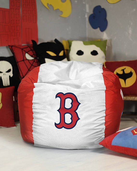 Magnificent Boston Red Sox Bean Bag Chair Cover Mlb Bean Bag Red Sox Alphanode Cool Chair Designs And Ideas Alphanodeonline